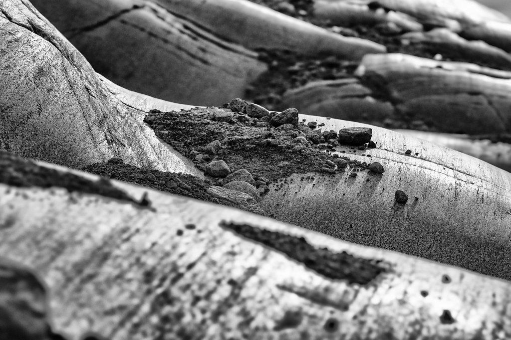 Rhonegletscher Seitenmoräne